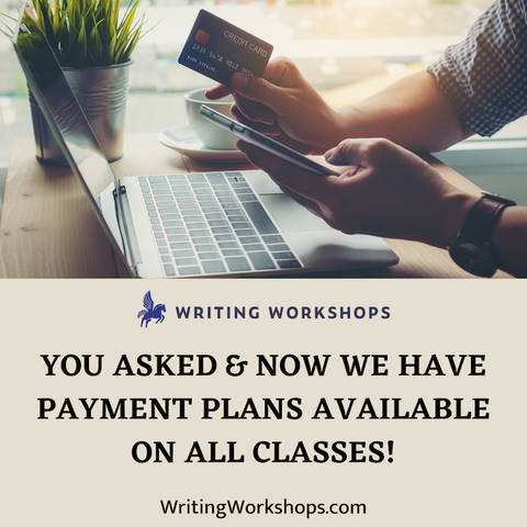 Payment Plans Now Available on All Classes!