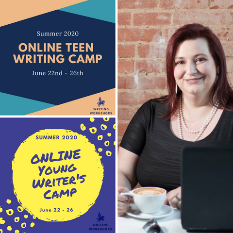 ONLINE Youth Writing Classes Start June 22nd!
