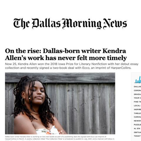 Instructor Kendra Allen Profiled in The Dallas Morning News
