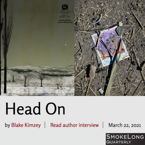 New Fiction from Instructor Blake Kimzey in Smokelong Quarterly