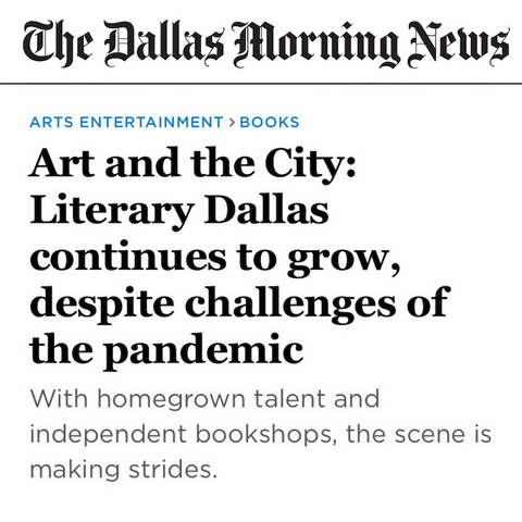 Writing Workshops Dallas Featured in The Dallas Morning News