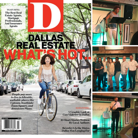 Four WWD Instructors Featured In D Magazine July 2019 Fiction Issue!