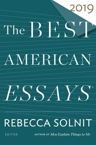 The Best American Essays 2019 | Notable Instructor James Tate Hill!