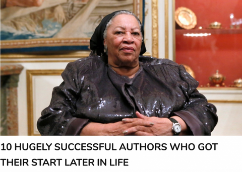 10 Hugely Successful Authors Who Got Their Start Later in Life