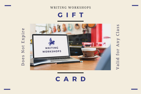 Writing Workshops Gift Card
