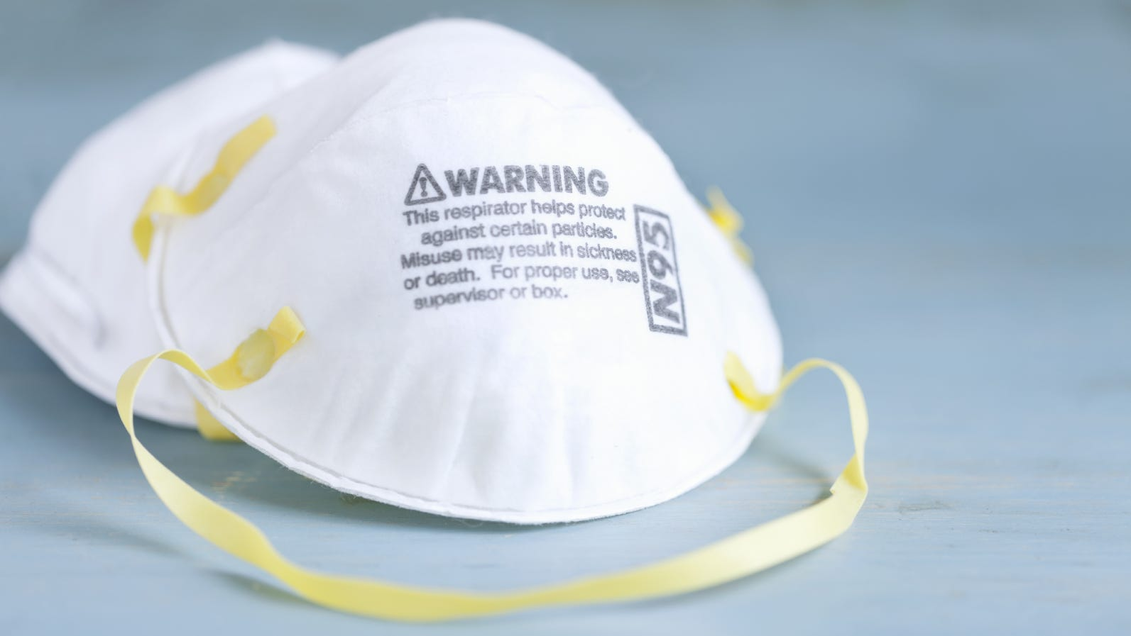 Example of Counterfeit N95 Respirator Mask