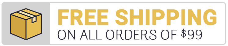 Free Shipping on orders of $99