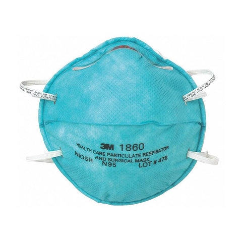 3M Healthcare N95 (#1860) Respirator Mask PPE 3M