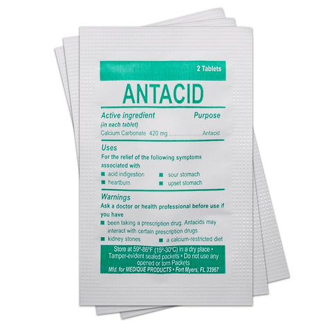 Antacid (Single Packet) Medication / Supplement Moore Med / Medi-First