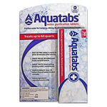 MSR AquaTabs Water Purification Tablets (30 tablets) First Aid Supplies NSF