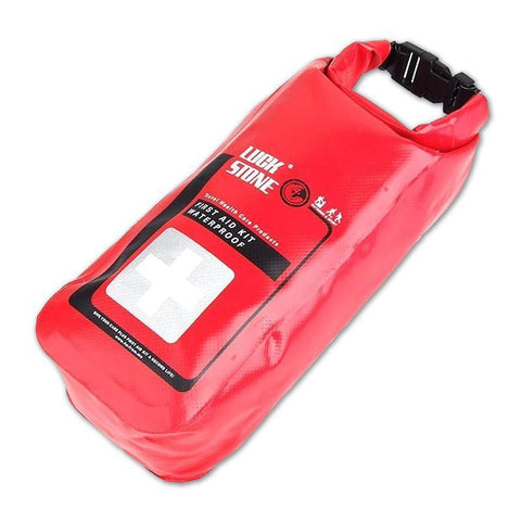 Waterproof First Aid Kit Dry Bag, 2L (Red) Bag RestockYourKit.com