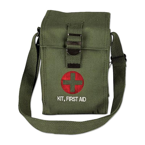 Olive Drab Platoon Leader's First Aid Pouch Bag RestockYourKit.com
