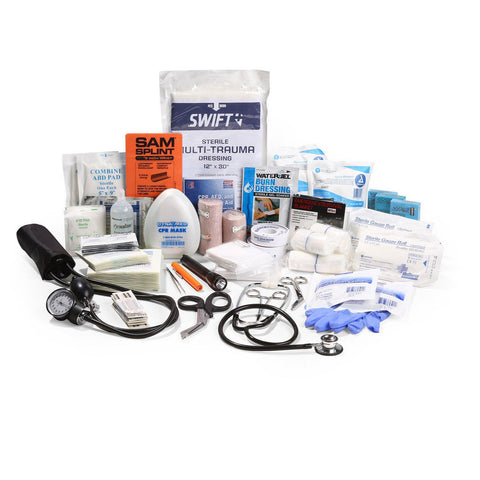 Ultimate (BLS) First Responder First Aid Kit - RestockYourKit.com