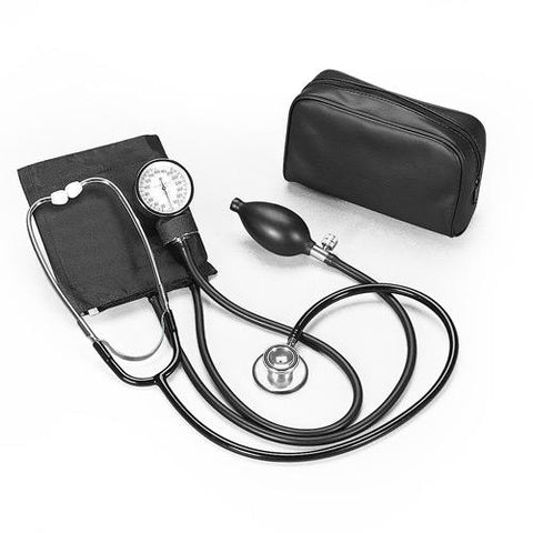 Economy Blood Pressure + Stethoscope Kit First Aid Supplies Dixie