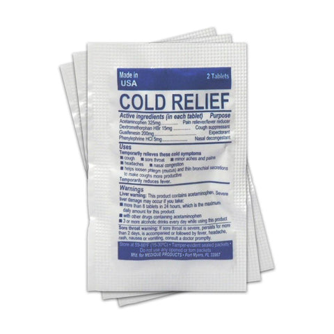 Cold + Flu Relief (Single Packet) - RestockYourKit.com