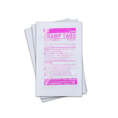 Feminine Relief Tablets (Single Packet) - RestockYourKit.com