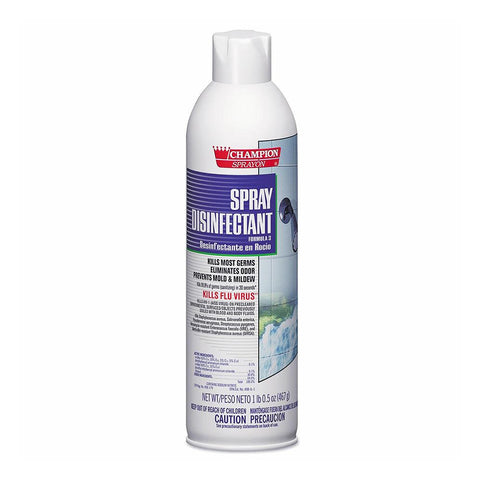 Champion SprayOn • Spray Disinfectant (16.5 oz) First Aid Supplies Champion