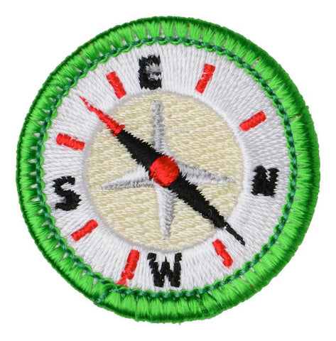 Disorienteering - Adult Merit Badge Patch CWS