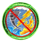 Emergency Unpreparedness - Adult Merit Badge - RestockYourKit.com
