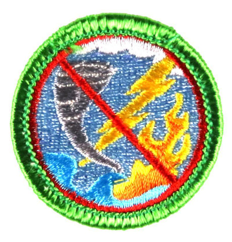 Emergency Unpreparedness - Adult Merit Badge Patch CWS