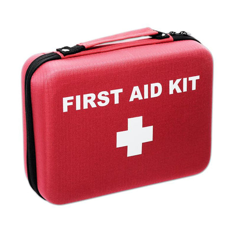 Hard Clamshell First Aid Kit Case - RestockYourKit.com