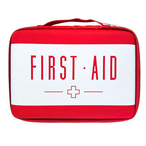 Soft Clamshell First Aid Kit Case - RestockYourKit.com