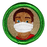 Face Mask Wearing - Adult Merit Badge - RestockYourKit.com