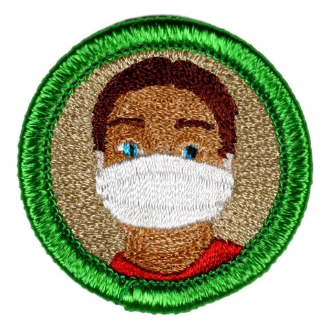 Face Mask Wearing - Adult Merit Badge Patch CWS