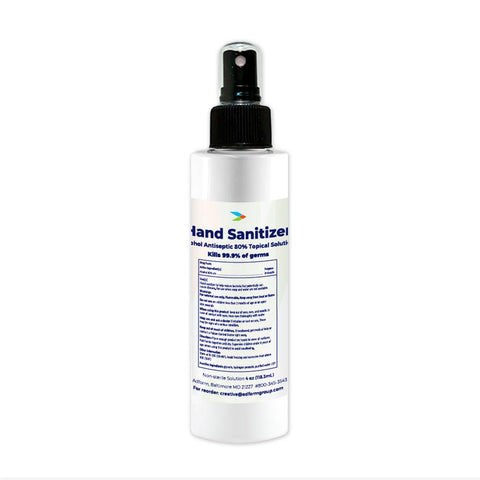 Hand Sanitizer (4 oz) First Aid Supplies Safetec