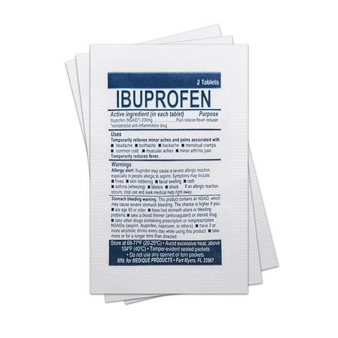 Ibuprofen (Single Packet) Medication / Supplement Moore Med / Medi-First