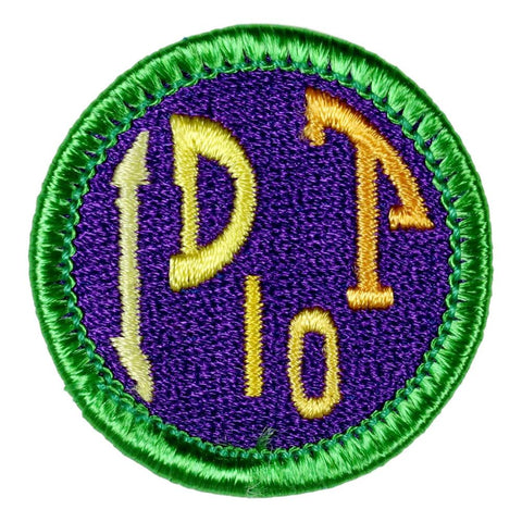 ID Ten T - Adult Merit Badge Patch CWS