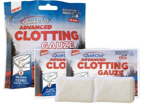 QuikClot Advanced Clotting Gauze (2-pack) - RestockYourKit.com