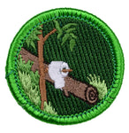 Pooping In The Woods - Adult Merit Badge Patch CWS
