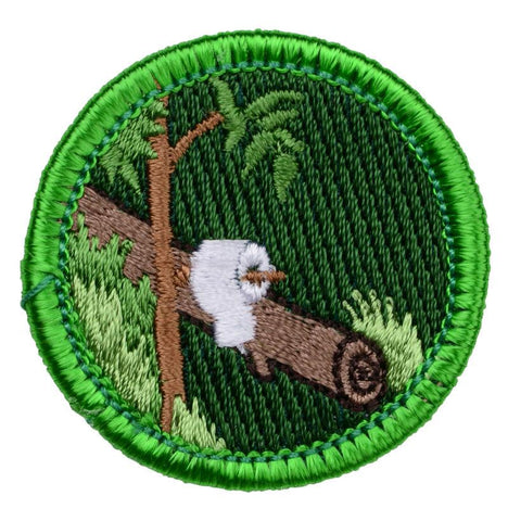 Pooping In The Woods - Adult Merit Badge - RestockYourKit.com