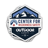 Limited Edition CWS Outdoor Safety Sticker Decal CWS