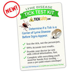 Lyme Disease Tick Test Kit Diagnostic Test TickSafety.com