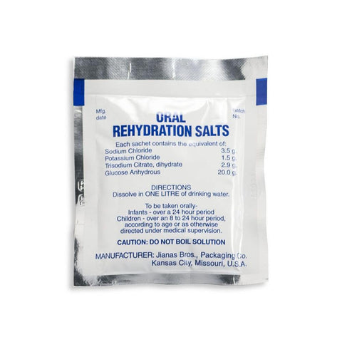 Oral Rehydration Solution (Electrolytes) - RestockYourKit.com
