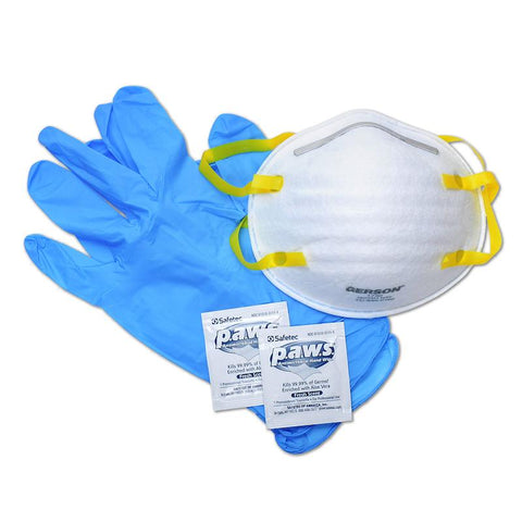 Personal PPE Kit (with N95) First Aid Kit CWS