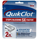 QuikClot Advanced Clotting Gauze First Aid Supplies Z-Medica QuikClot Advanced Clotting Gauze (2 ft)