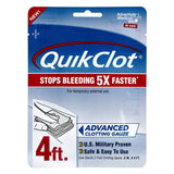 QuikClot Advanced Clotting Gauze First Aid Supplies Z-Medica QuikClot Advanced Clotting Gauze (4 ft)