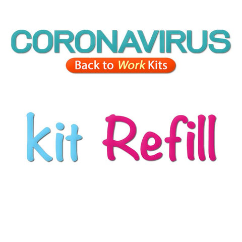 COVID Back to Work (REFILL) Kit CWS X-Small Youth
