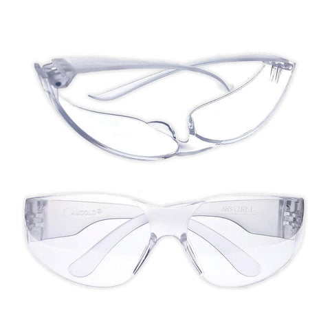 Polycarbonate Safety Glasses - RestockYourKit.com