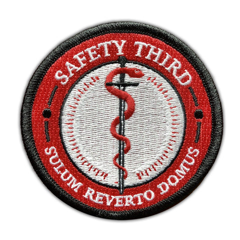 Safety Third Patch - RestockYourKit.com