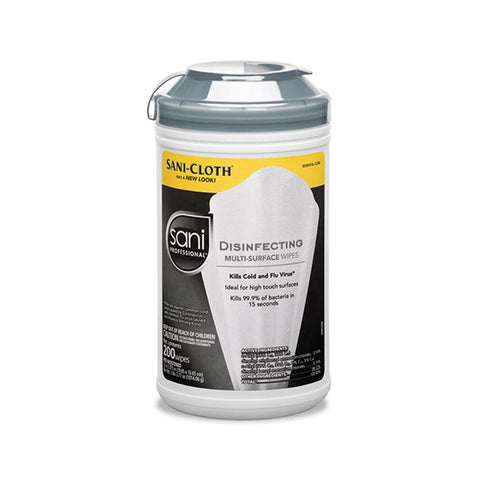 Sani-Cloth Professional Disinfecting Wipes First Aid Supplies Sani-Cloth