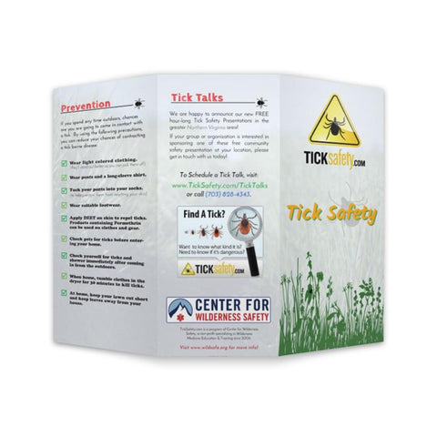 Tick Safety Brochure - RestockYourKit.com