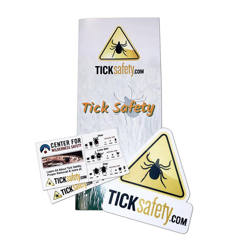 Personal Tick Safety Info Packet Documents + Books TickSafety.com
