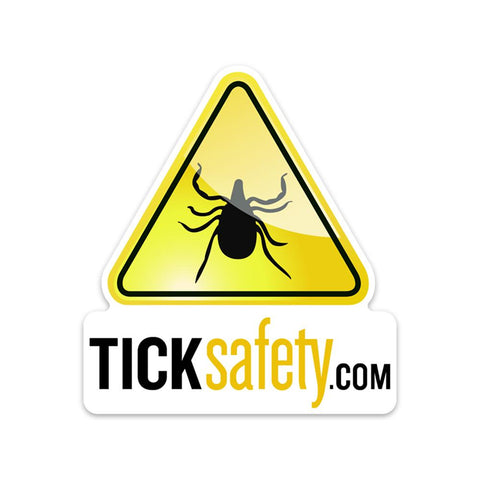 TickSafety.com (Vinyl Decal) - RestockYourKit.com