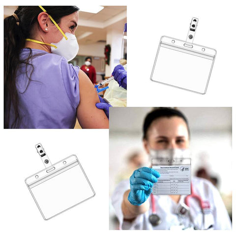 Vaccination Card Protector - Vaccine Card Holder