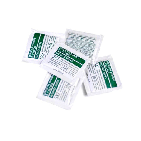 Alcohol Disinfectant Sani-Wipes First Aid Supplies MedLine Plus
