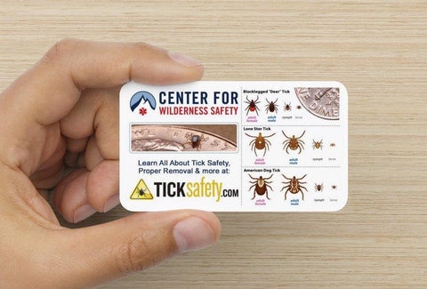 Tick Identification Cards - RestockYourKit.com